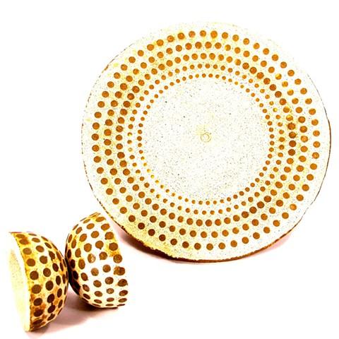 Dot Plates & Dot Bowls~
