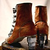 Saving the Best-For-Last, Wing Nut Lady Boots~ Sold Tennessee State Museum/10.31.2012