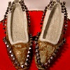 Mud-Nail Texture-Driven Lady Low-Heeled Shoes~  Sold/LCG 7.7.2012