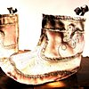 Butterfly Booties~ Sold. Area 61 9.30.2016
