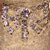 Pink Tinged Regal Rhinestone Happy Taps~  Sold/Art.a.ma.jig 7.19.2012
