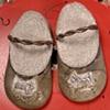 Wee Scottie Slippers~ Sold.