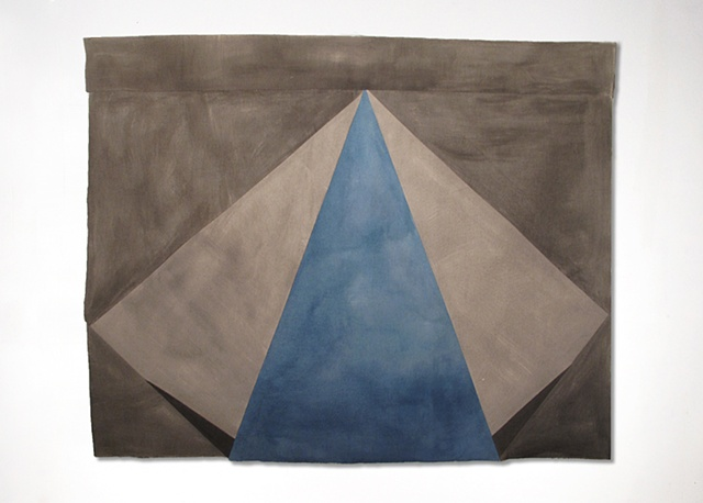 wei artwork blue gray Gabrielle Teschner
