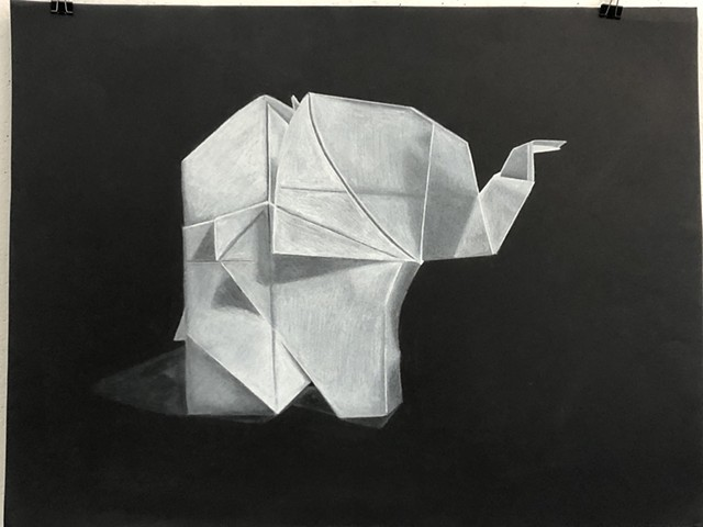 Folded paper project