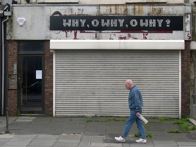 Golden Mile Project, Belfast, clive murphy, why o why o why?