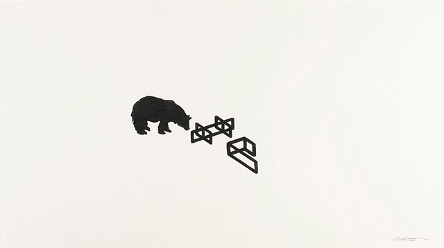 UNTITLED (BEAR ENCOUNTERS POST-MINIMALIST FORMS)