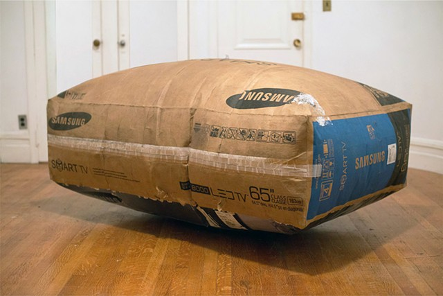 INFLATABLE CARDBOARD BOX (KEEPS GETTIN' BETTER)