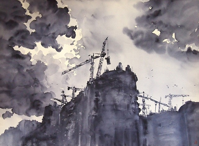 aARON gan aaron art WATERCOLOR sINGAPORE