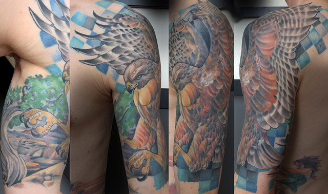 Falcon Half Sleeve
