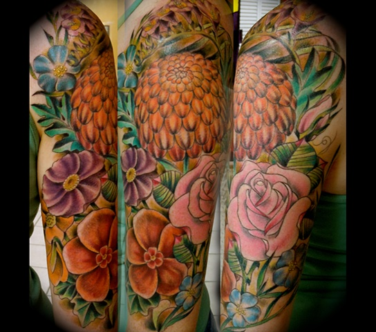 Bouquet Half Sleeve