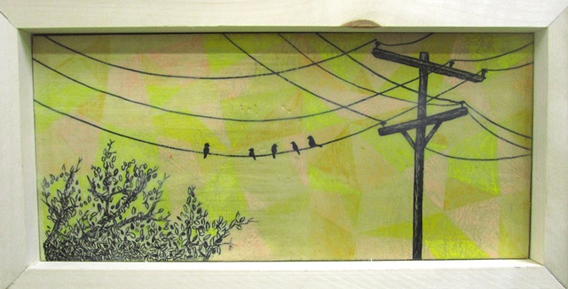 Birds & Wires *SOLD*