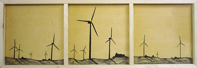 Turbine Silhouettes *SOLD*