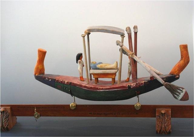 funerary boat, Egyptian
