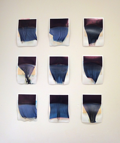 Untitled (Release 3 series, installation view)