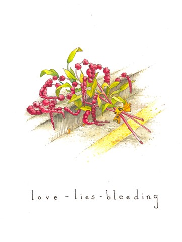 Bouquet for Black Lives (love-lies-bleeding)