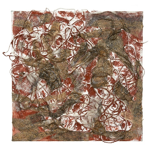 Red Iron Oxide Tangle
