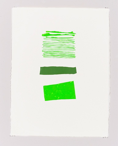 Three-Green Collage