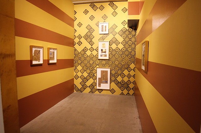 Installation view from entrance