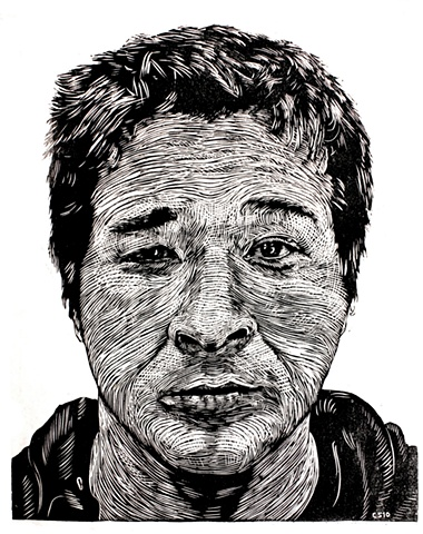Woodcut, Portrait