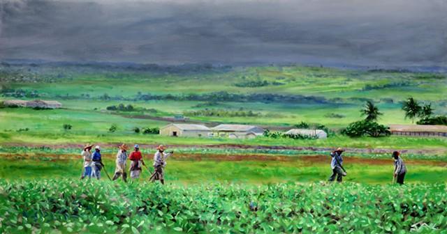 Bajan Field Workers