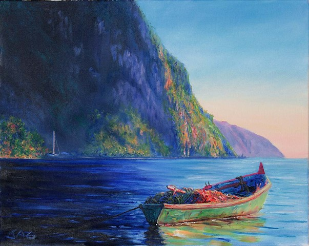 Gommier Boat 1