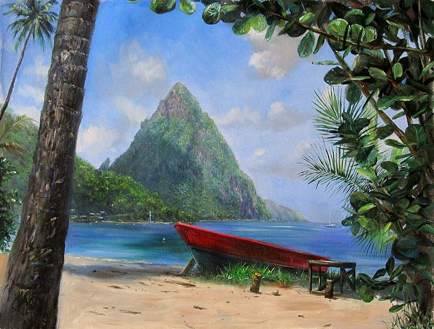 7. Petit Piton w/ Red Boat