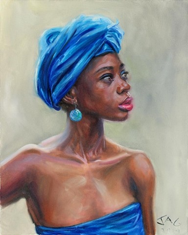 4. Avon in Blue Turban #2