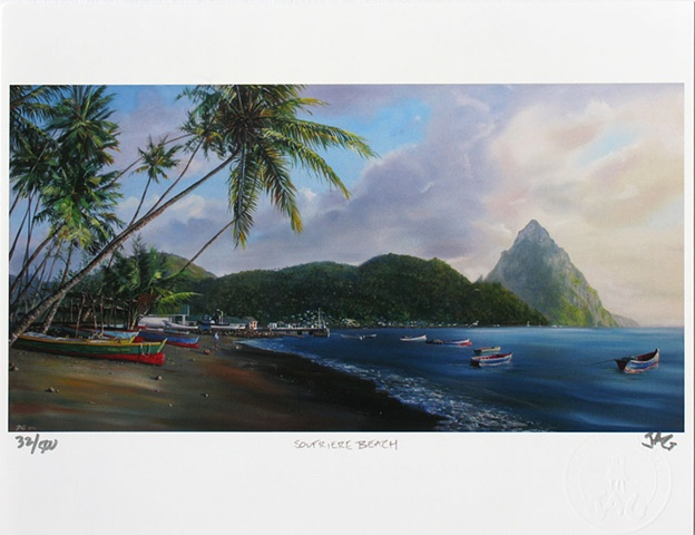 Soufriere Beach