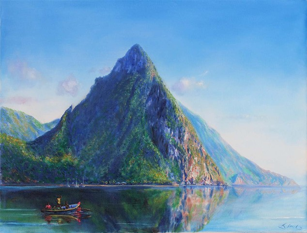 Pitons, Calm Waters