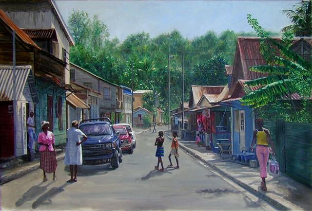 High Street, Laborie
