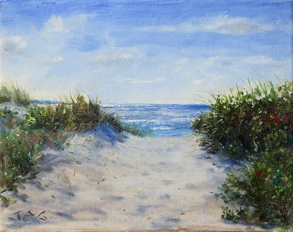 Long Beach plein air study 8/31/20 Morning