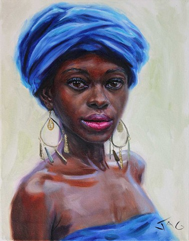 3. Avon in Blue Turban