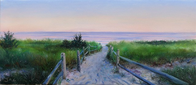 Long Beach Path- Twilight