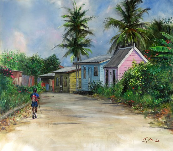 Chattel Houses, Barbados