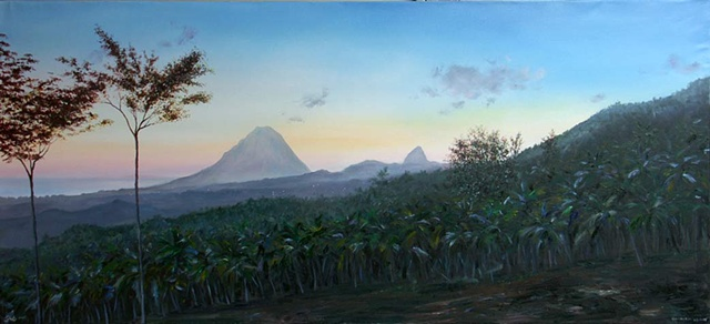 Pitons from Leblanc