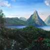 Pitons Morning 1
