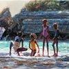 Beach Day at Saphire