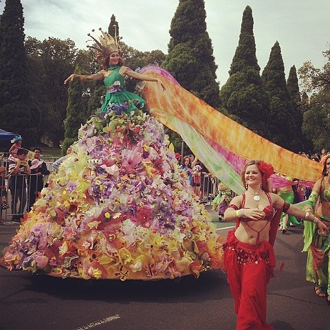 People's Float, Moomba Festival Parade. Melbourne 2014