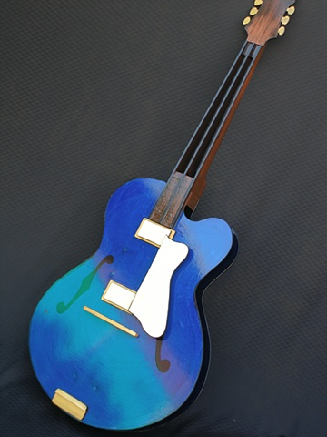 Blue Guitar for Jazz Festival