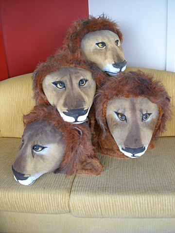Lion Head Hats
