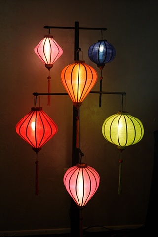 Lamp Stand inspired by Hoi Ann, Vietnam
