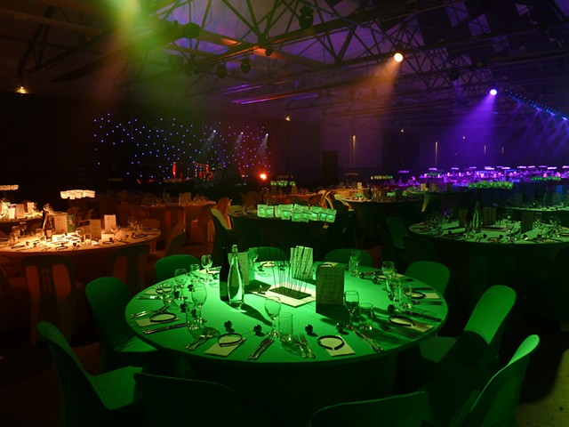 Alzeimers' Gala Dinner Theming