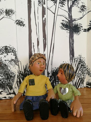 'Small Stories' Puppets