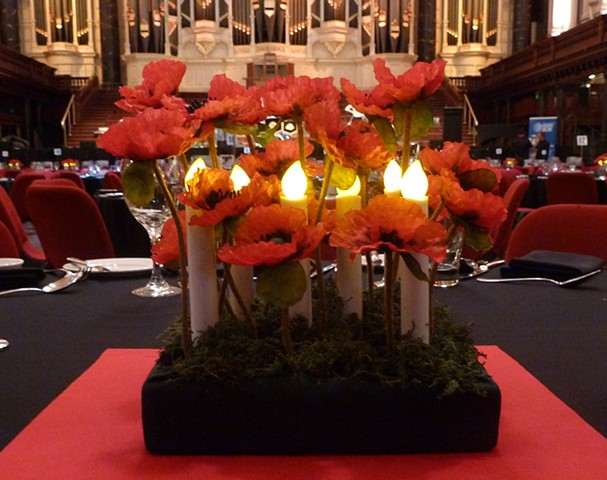AMMA Rememberance Centrepiece