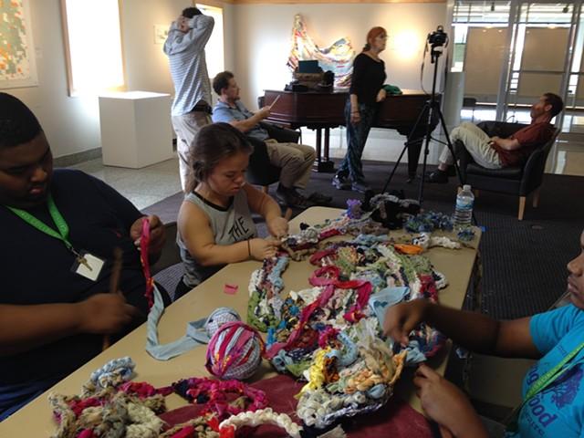 Crochet Jam, Greensboro College, Greensboro, North Carolina