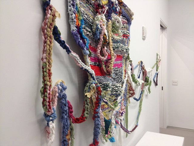 Crochet Jam, Artadia: the Fund for Art & Dialogue Celebrates 15th Anniversary with Exhibition, Curator: Gianni Jetzer, Longhouse Projects, NYC, September 13–October 25, 2014