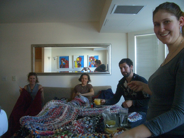 STITCH 2012—a weekly,community-based sewing bee to support The Spirit Tapestry Project