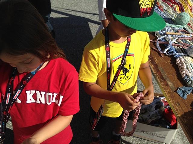 Crochet Jam, Maker Faire