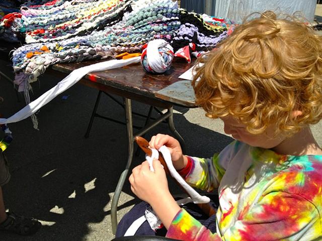 Crochet Jam, Maker Faire, Bay Area