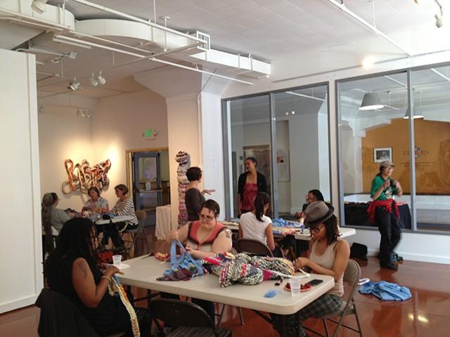 Crochet Jam at AAACC SF